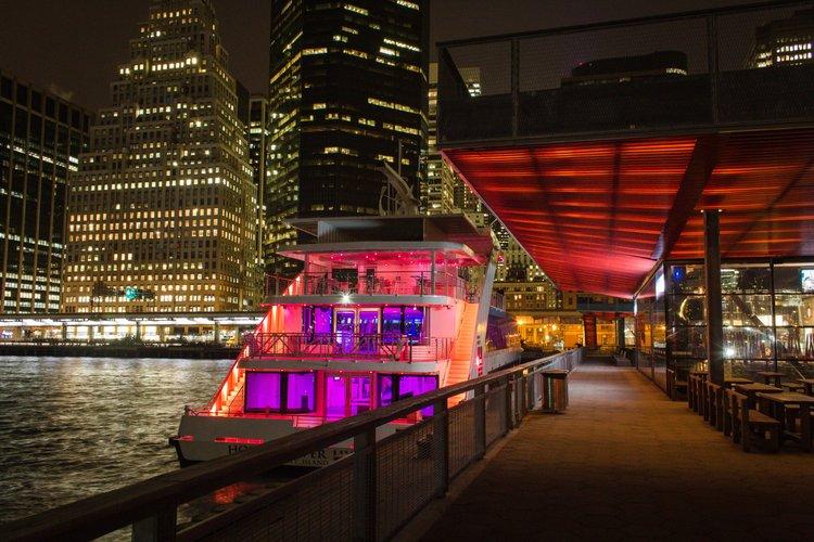 Mega yacht boat rental in New York, NY