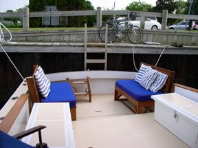 Downeast boat for rent in Sag Harbor
