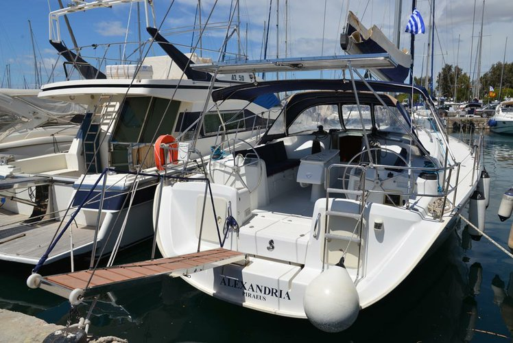 Sail the waters of Saronic Gulf on this comfortable Bénéteau