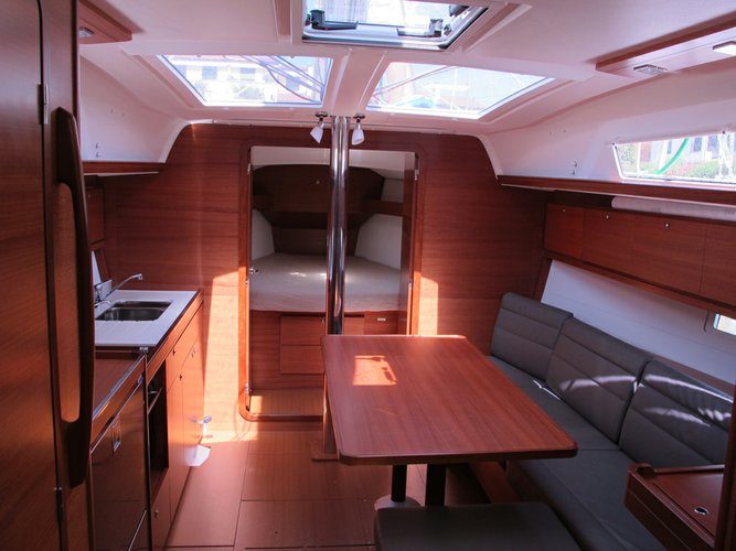 Discover Veneto surroundings on this Dufour 382 GL Dufour Yachts boat