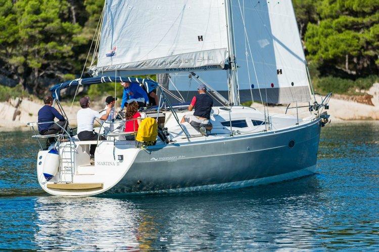 Discover Zadar region surroundings on this Elan 344 Impression Elan Marine boat
