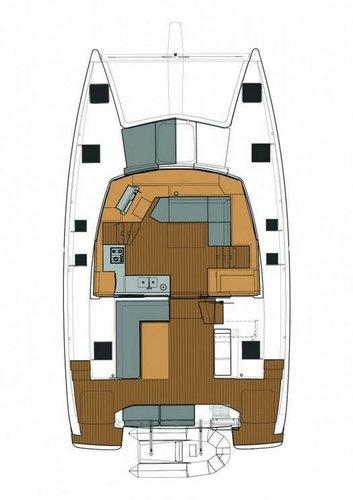 Catamaran boat rental in Marina Dalmacija, Sukosan,