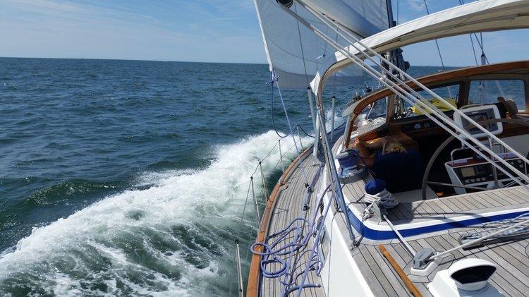 Boat for rent Hallberg 54.0 feet in Liberty Landing Marina, NJ