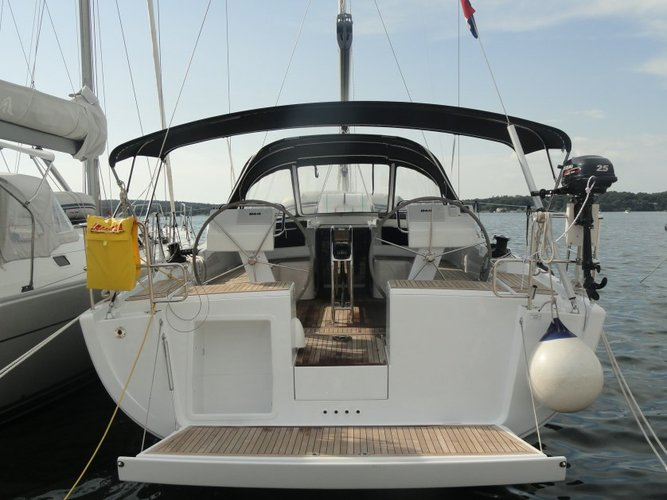 Boating is fun with a Hanse Yachts in Istra