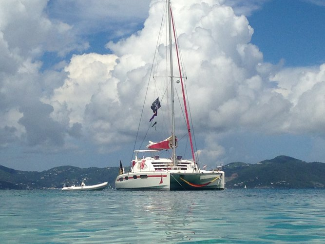 Boat for rent Leopard 46.0 feet in Compass Point Marina, U.S. Virgin Islands
