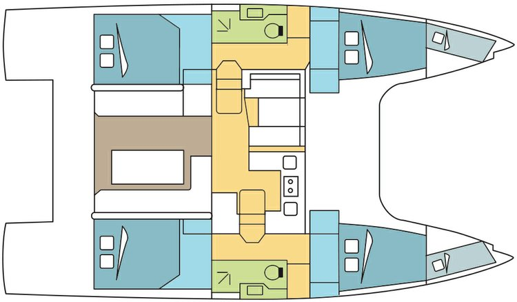 Boat for rent Nautitech 39.0 feet in Port Calanova,