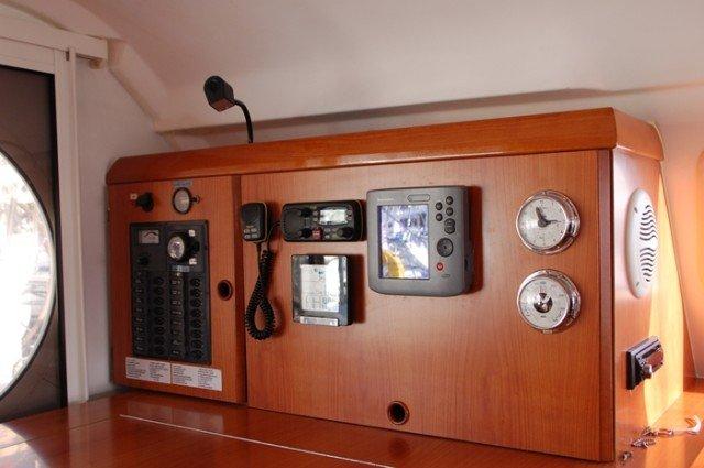 Catamaran boat for rent in Aegean