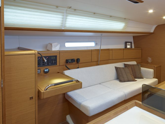 Boat for rent Sun Odyssey 37.0 feet in Jolly Harbour Marina,