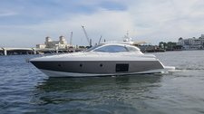 Cruise the Miami waters on this sleek 45 Sessa