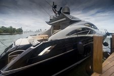 Soak up the Miami sun on this magnificent Sunseeker Predator 64