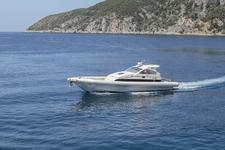 Luxury speed boat Eni