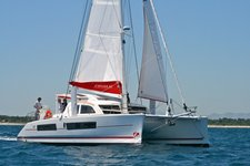 Sail St. Vincent on this stunning Catana 42 Catamaran