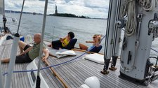 thumbnail-18 Hallberg 54.0 feet, boat for rent in Jersey City, NJ