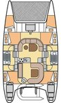 thumbnail-2 Nautitech Rochefort 39.0 feet, boat for rent in Aegean, TR