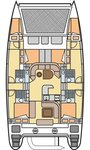 thumbnail-2 Nautitech Rochefort 46.0 feet, boat for rent in Aegean, TR