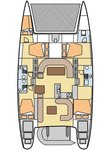 thumbnail-2 Nautitech Rochefort 49.0 feet, boat for rent in Aegean, TR