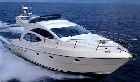 Cruise Lisbon and Cascais in this beauty Azimut