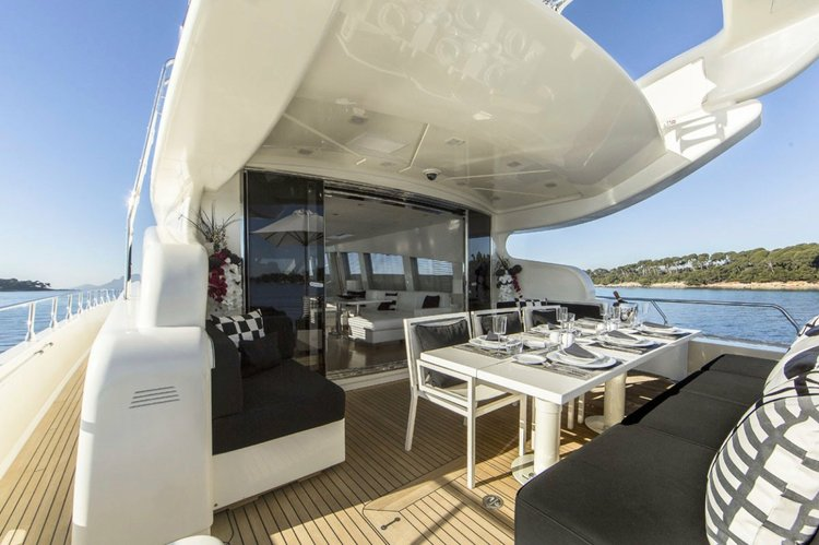 Boat for rent Cantieri Dell'Arno 101.0 feet in Miami Beach Marina, FL