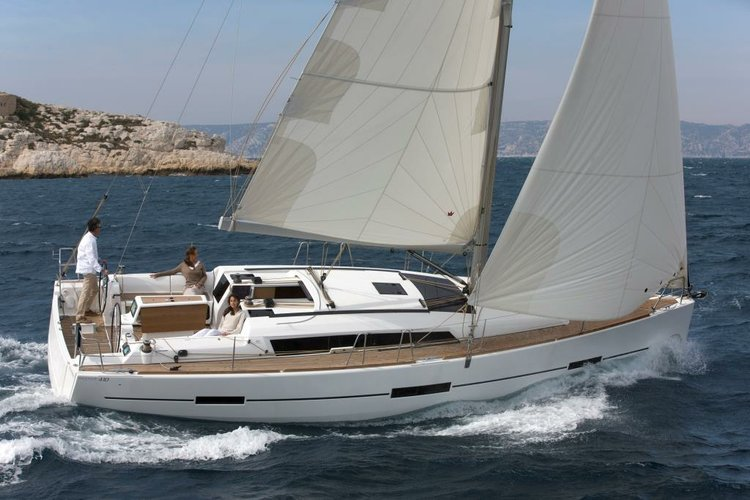 Experience Corsica on this brand new Dufour 412