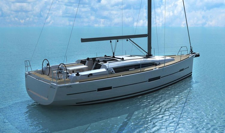 Corsica and all its beauty aboard this stunning new Dufour 412