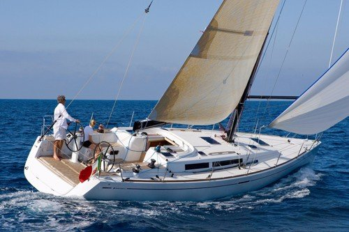 Sail this beautiful Grand Soleil around Marseille