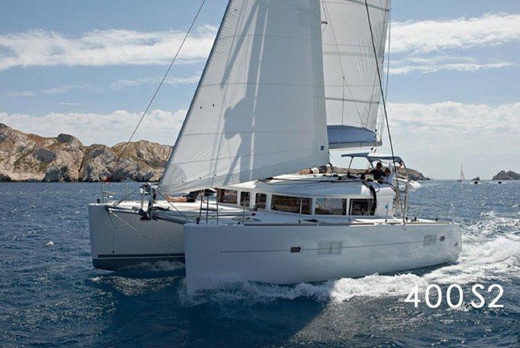 The Lagoon 400S2 Catamaran is A Fun Family Boat