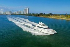 thumbnail-1 Lazzara 84.0 feet, boat for rent in Miami Beach,