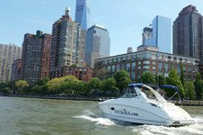 Enjoy a private charter aboard a luxury 29' powerboat!