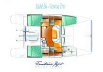 thumbnail-8 Fountaine Pajot 36.0 feet, boat for rent in San Diego, CA