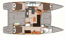 thumbnail-12 Fountaine Pajot 44.0 feet, boat for rent in San Diego, CA