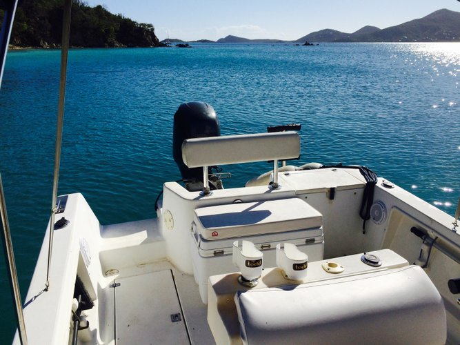 Catamaran boat for rent in St. John
