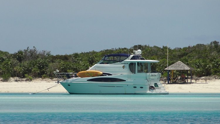 Cruise the Caribbean in this excellent Carver