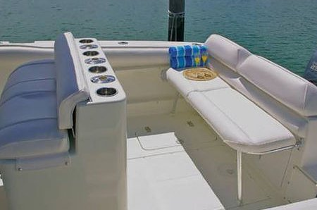 Center console boat rental in Crandon Park Marina, FL