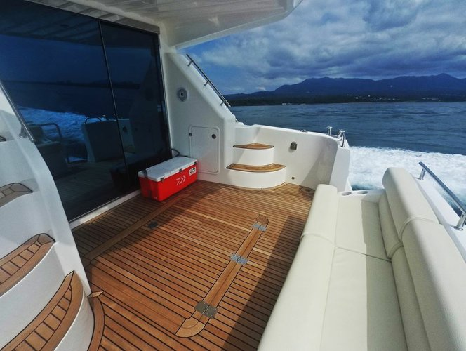 Motor yacht boat for rent in Taipei
