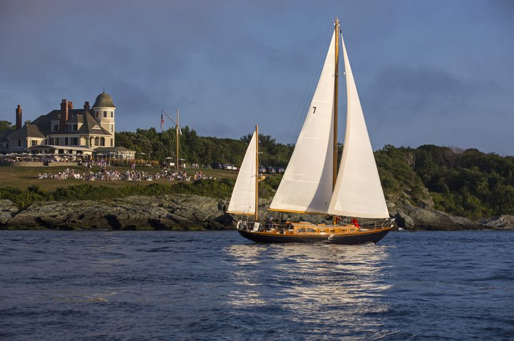 Sail in Elegance aboard this Classic Yawl