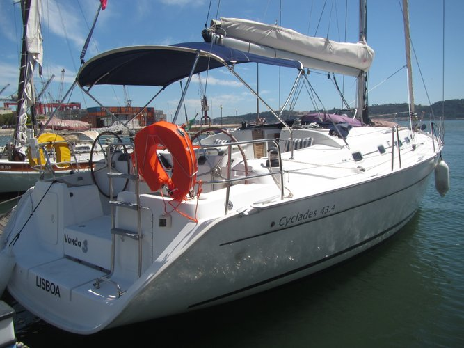 Beneteau's 43.4 feet in Belem
