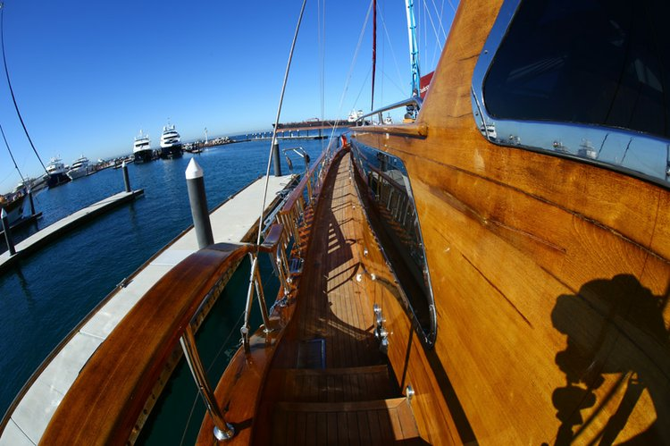 Boating is fun with a Classic in La Paz