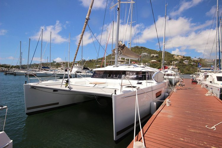 Explore St. Maarten in this Luxurious Catamaran
