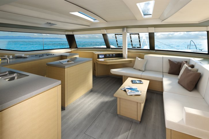 Discover Key West surroundings on this SABA 50 Fountaine Pajot boat