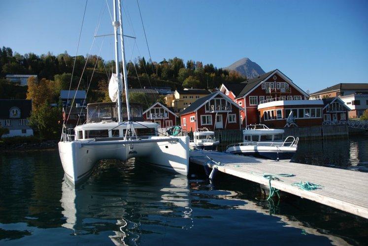 Boat for rent Lagoon-Bénéteau 45.0 feet in Troms, Norway