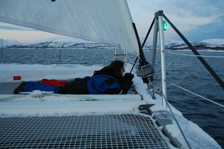 Boating is fun with a Lagoon-Beneteau in Troms