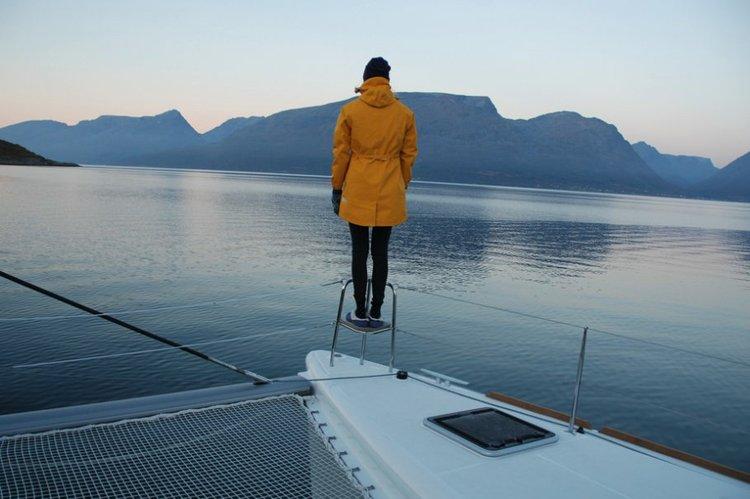 Catamaran boat rental in Troms, Norway