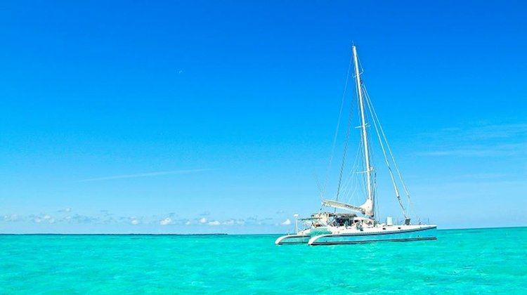 Catamaran boat rental in Belize City,