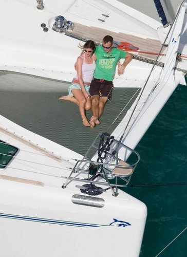Catamaran boat rental in Soper's Hole Wharf & Marina,