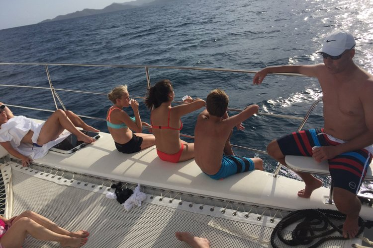 Scape Yacht's 40.0 feet in Virgin Gorda