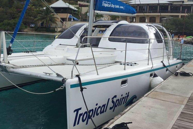 Boating is fun with a Daysailer / Weekender in Virgin Gorda