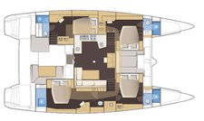 thumbnail-5 Lagoon 52.0 feet, boat for rent in Oyster Pond, AN