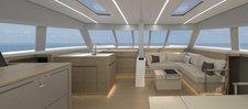 thumbnail-9 Nautitech Rochefort 45.0 feet, boat for rent in Split region, HR