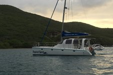 Hop the BVI islands on your private day sail catamaran