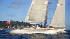 Sail St. Barths in a Luxurious Swan